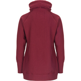 super.natural Mountain Cascade - Midlayer Mujer - rojo